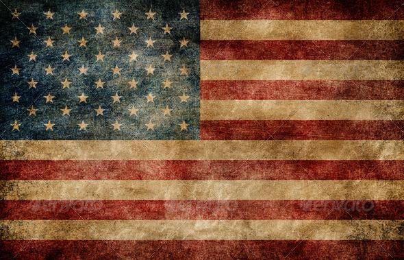 PhotoDune American flag 647465