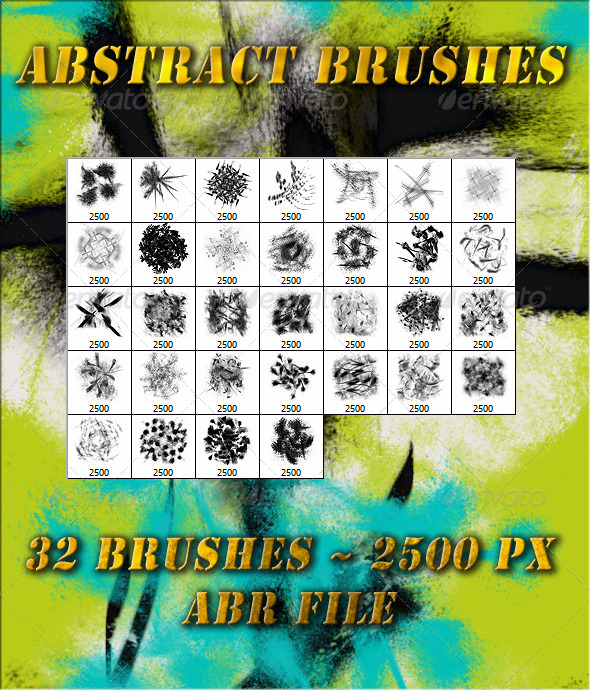 GraphicRiver Abstract Brushes 6201134