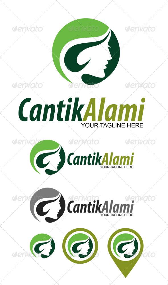 GraphicRiver Cantik Alami Logo 6201155