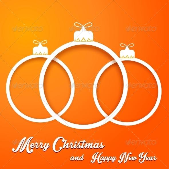 GraphicRiver Christmas Balls 6201646