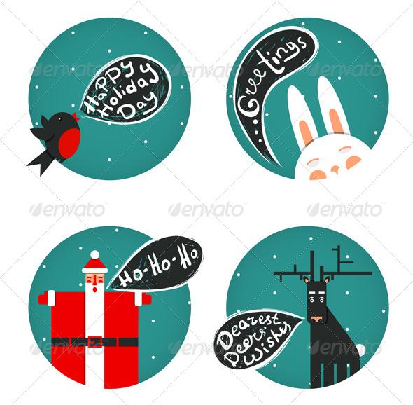 GraphicRiver Christmas and Holiday Greetings 6201904