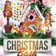 Xmas Christmas Bash Party Flyer Template - GraphicRiver Item for Sale