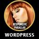 Cutting Edge Responsive Parallax WordPress Theme - ThemeForest Item for Sale