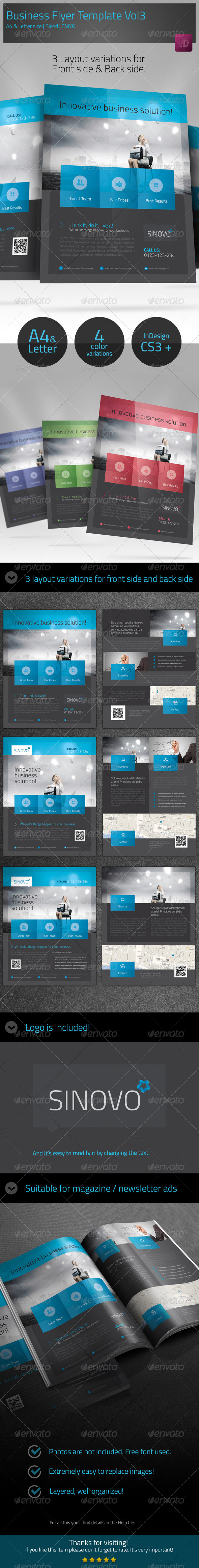 GraphicRiver Business Corporate Flyer Template vol3 6202271
