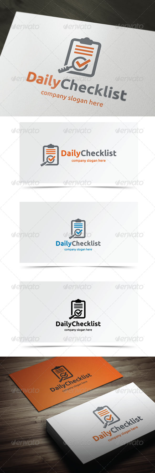 GraphicRiver Daily Checklist 6202281
