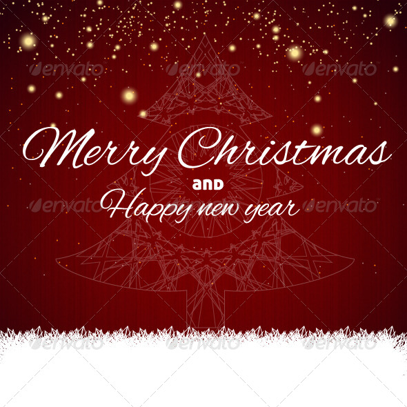GraphicRiver Merry Christmas Tree 6201667