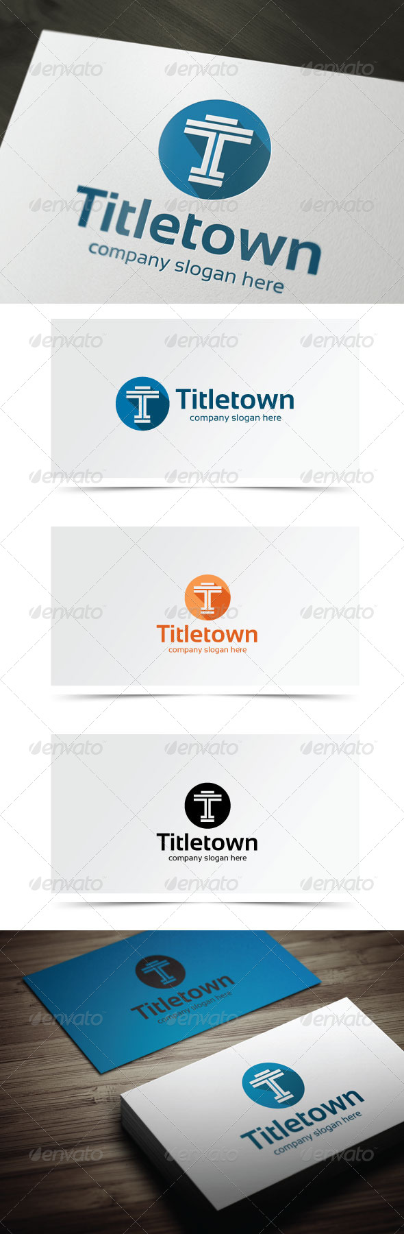 GraphicRiver Titletown 6202302