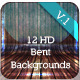 12 HD Bent Background Scenes - GraphicRiver Item for Sale