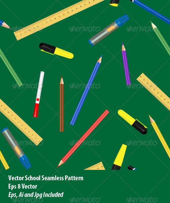 GraphicRiver School Supplies 6202586