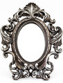 Vintage silver-plated mirror - PhotoDune Item for Sale