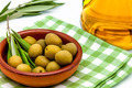 Green olives and olive oil - PhotoDune Item for Sale