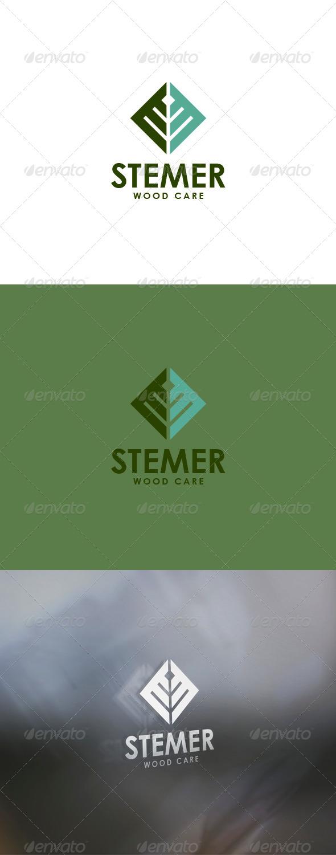 GraphicRiver Stemer Logo 6203547