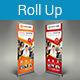 Multipurpose Business Roll-Up Banner Vol-08