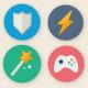 35 Cartoon Game UI Icons - GraphicRiver Item for Sale