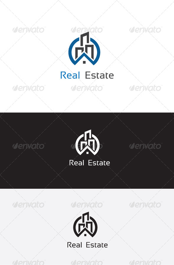 GraphicRiver Real Estate Logo Template 6204185
