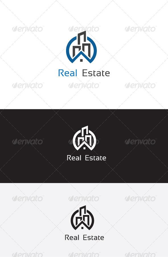 GraphicRiver Real Estate Logo Template 6204185