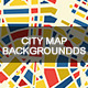 City Map Backgrounds - GraphicRiver Item for Sale