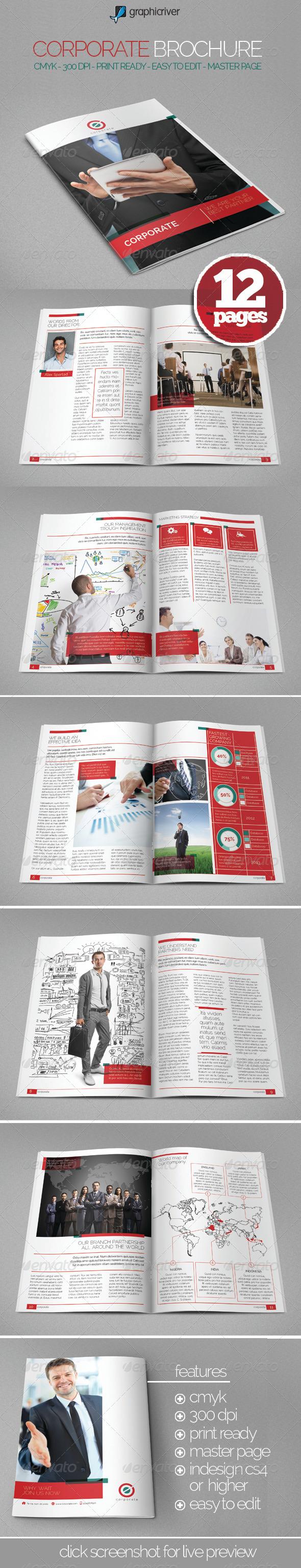 GraphicRiver Easy Corporate Brochure 6204230