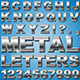 Metal Letters - GraphicRiver Item for Sale