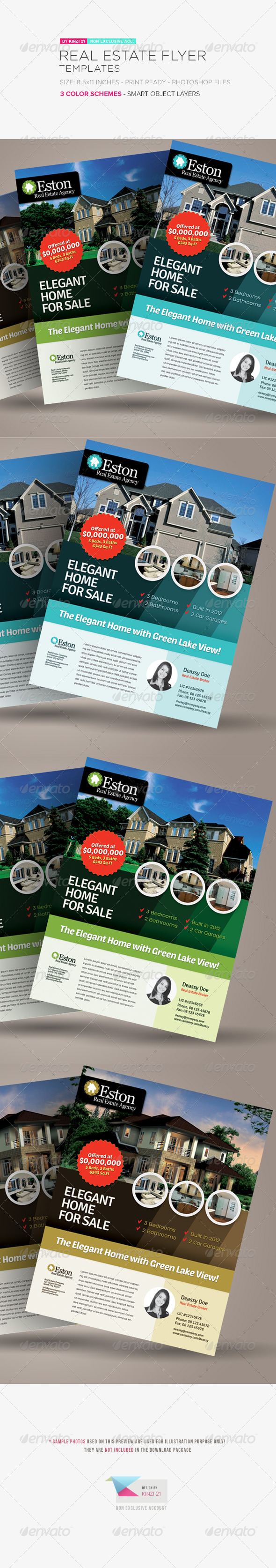 GraphicRiver Real Estate Flyer Templates 6204347