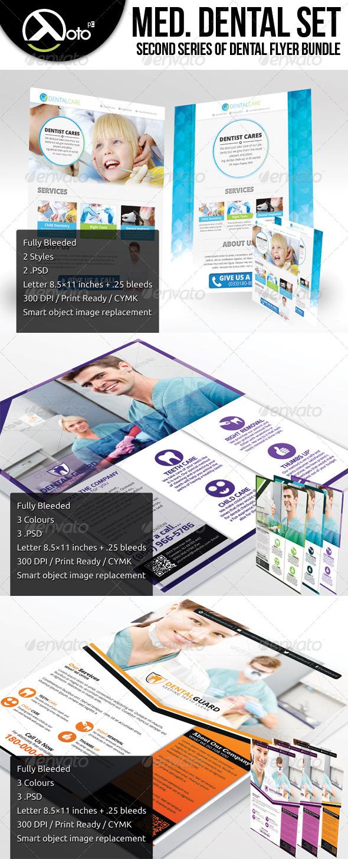 GraphicRiver Medical Dental Set 2 6204480