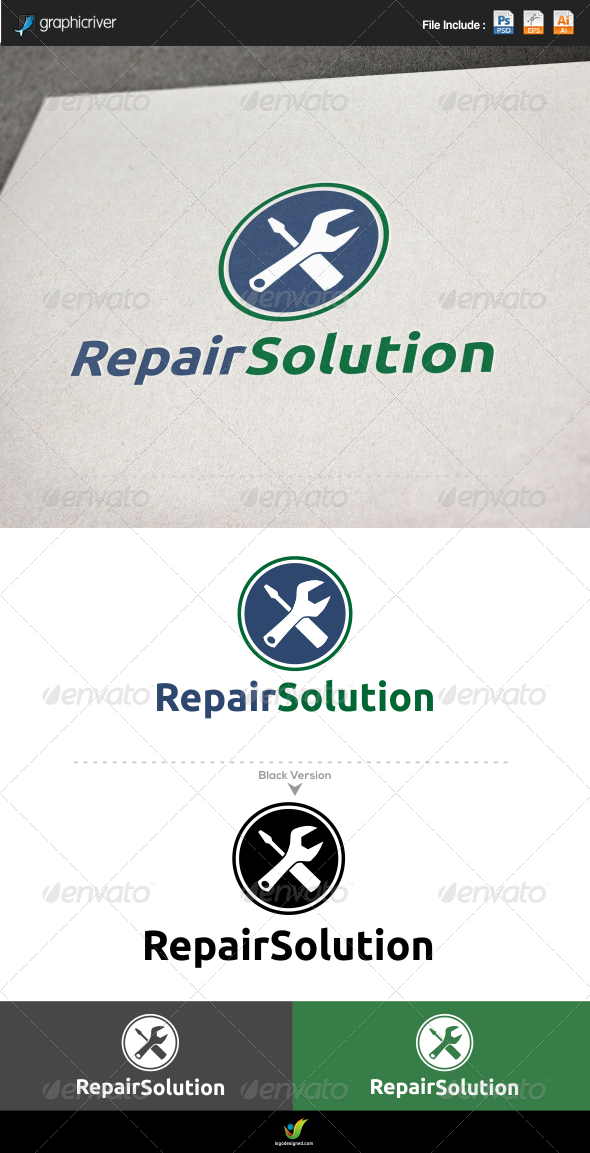 GraphicRiver Repair Solution 6204899