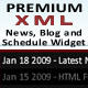 Premium News, Blog, and Schedule Widget - ActiveDen Item for Sale