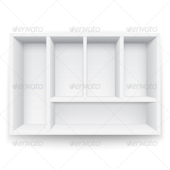 GraphicRiver White Box with Separators 6205883