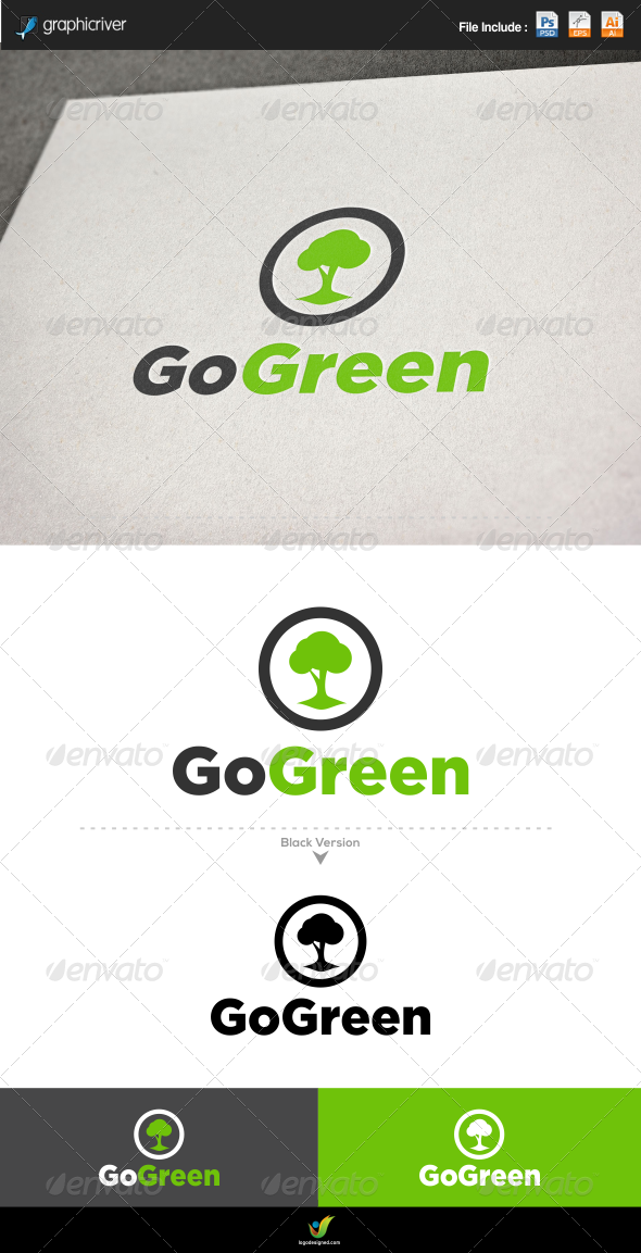 GraphicRiver Go Green Tree 6205884