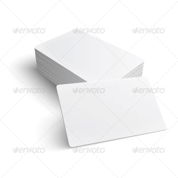 GraphicRiver Stack of Blank Business Card 6205934