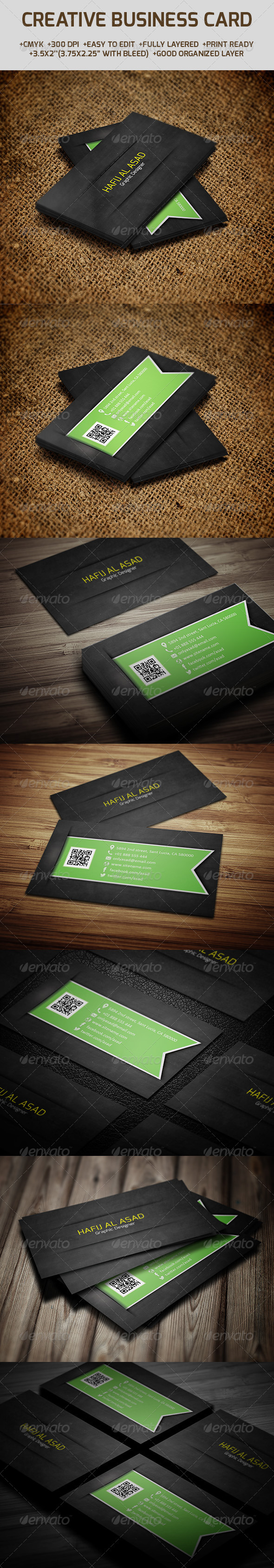 GraphicRiver Creative Business Card 6205940