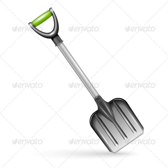GraphicRiver Garden Shovel 6205976