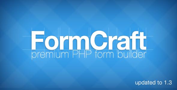 FormCraft Premium PHP Form Builder
