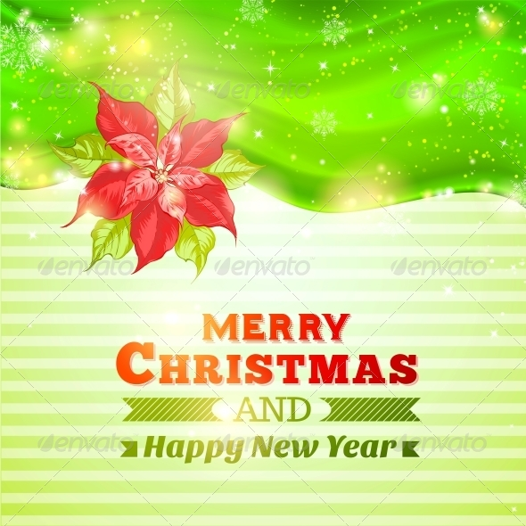 GraphicRiver Christmas and New Year Greeting Card 6206001