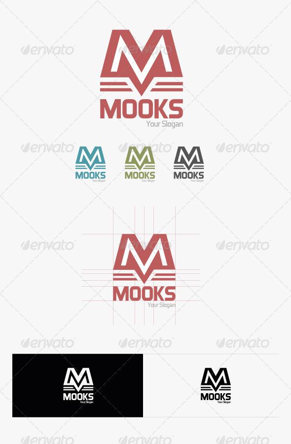GraphicRiver Mooks Logo 6200412