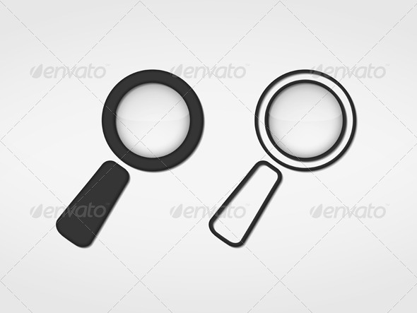 GraphicRiver Magnifying Glass Icon 6206723