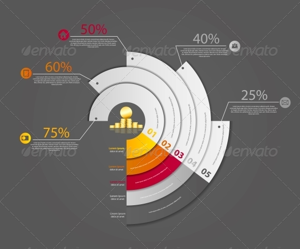 GraphicRiver Infographic Business Template Vector Illustration 6206821