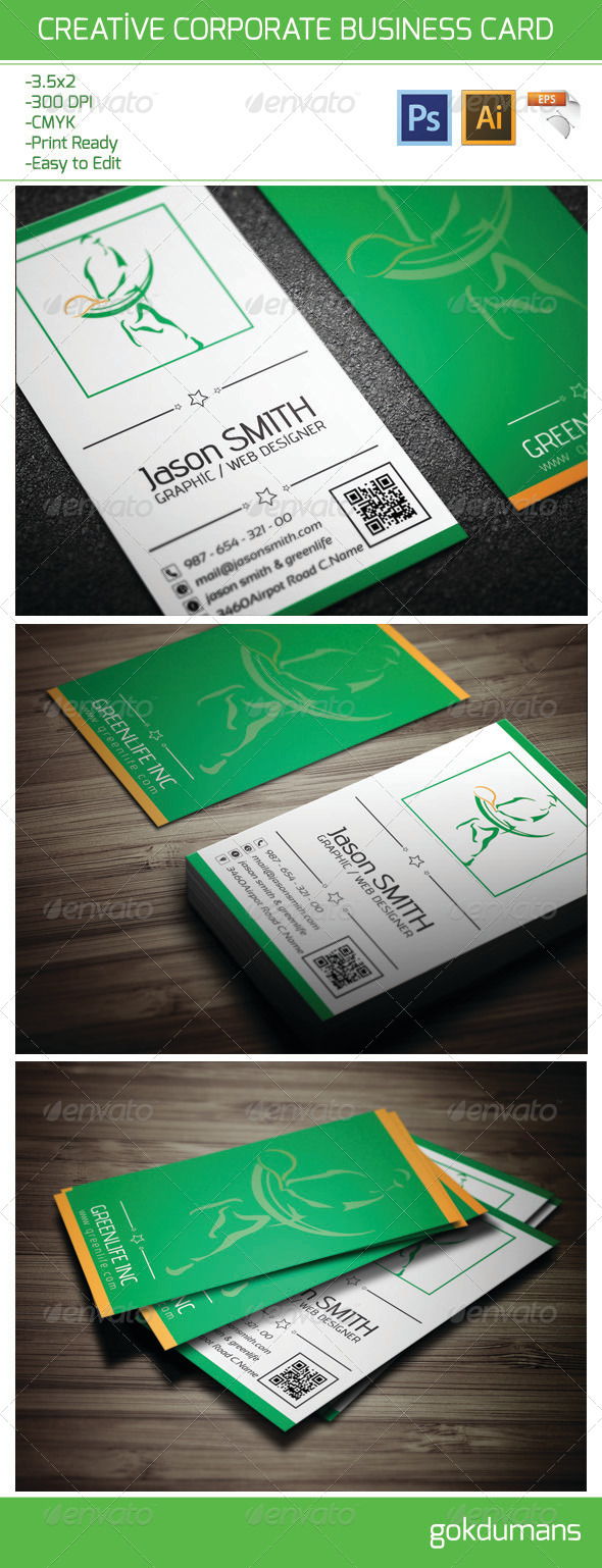 GraphicRiver Creative Corporate Business Card 6206832