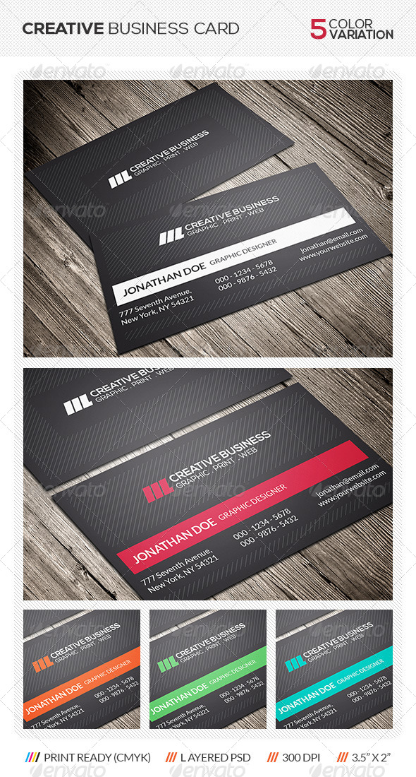GraphicRiver Creative Business Card 6207555