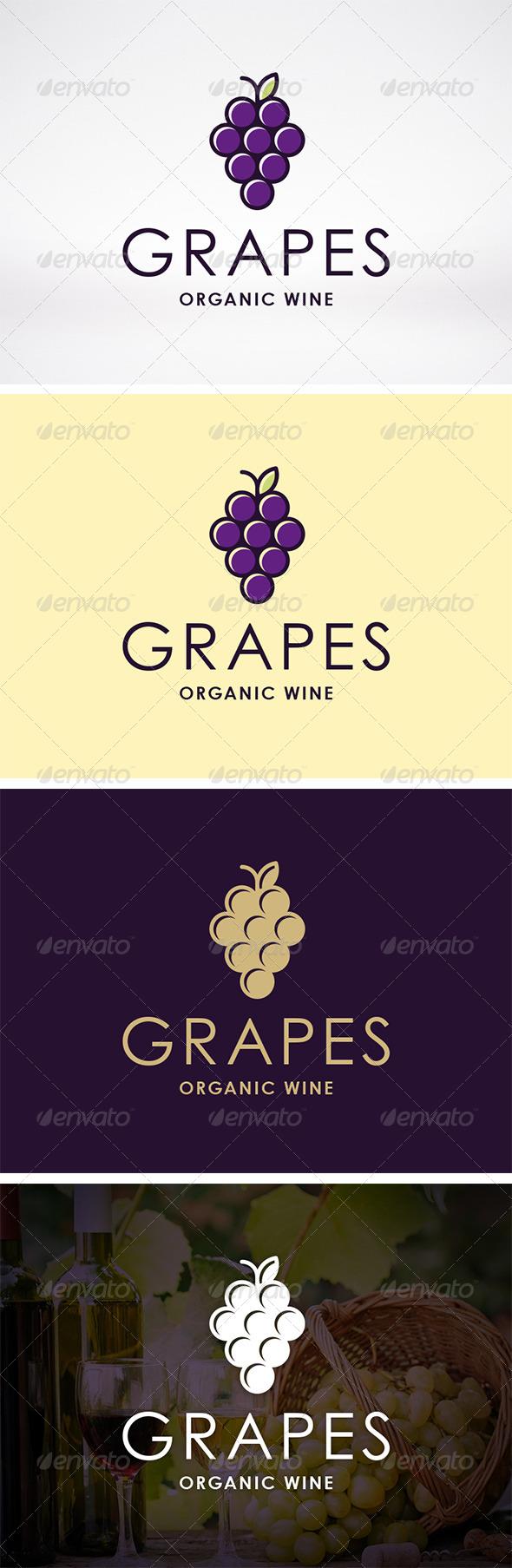 GraphicRiver Wine Logo Template 6207559