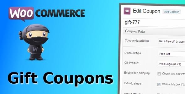 CodeCanyon WooCommerce Gift Coupons 6207561
