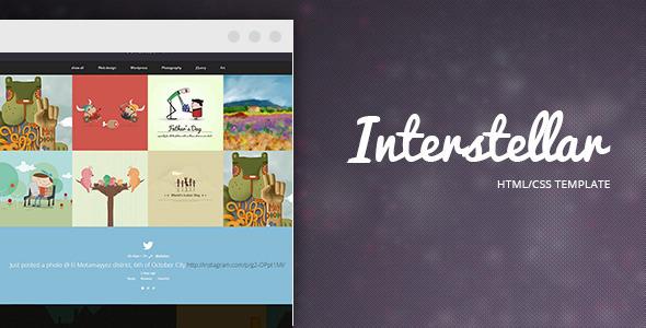ThemeForest Interstellar Multi-purpose HTML Template 6207596