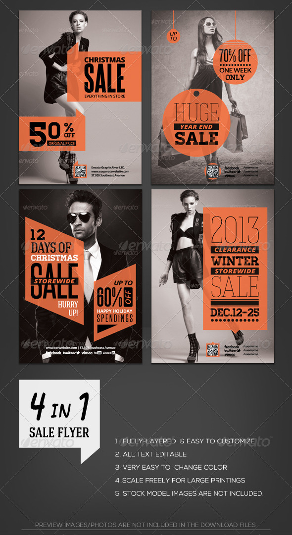 GraphicRiver Shopping Store Sale Flyer Template 6207742