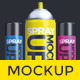 Aerosol Spray Can Mockup - GraphicRiver Item for Sale