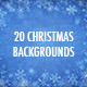 20 Christmas Backgrounds - GraphicRiver Item for Sale