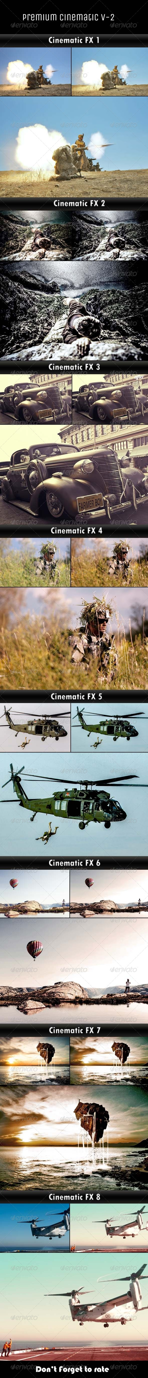 GraphicRiver Cinematic Actions V-2 6208504