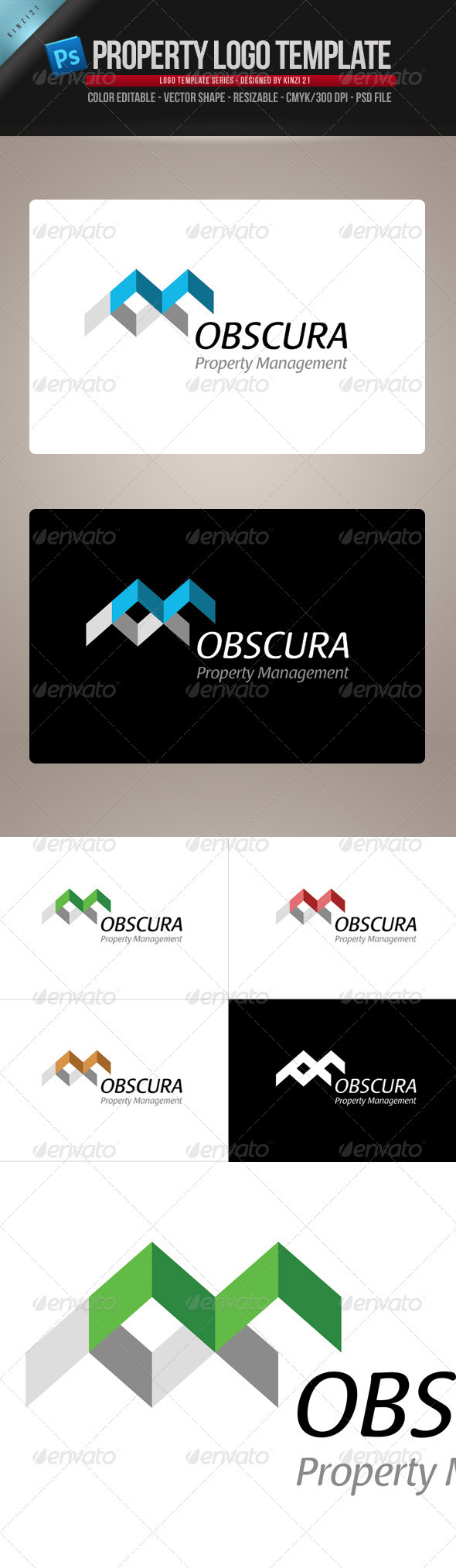 Property-Real Estate Logo Template - Vector Abstract