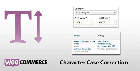 CodeCanyon WooCommerce Case Correction 6208787