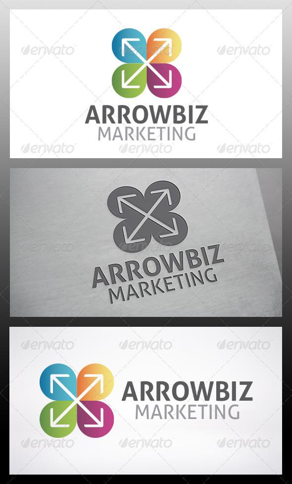 GraphicRiver Arrow Logo 6209364