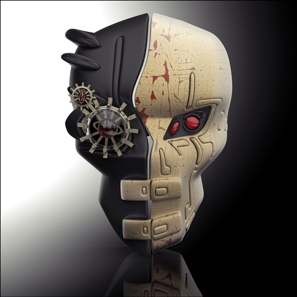 3DOcean Steampunk mask 6209429